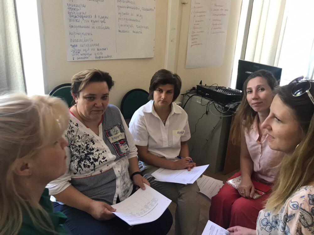 Семинар по профилактике отказов от новорожденных прошел в Московской области