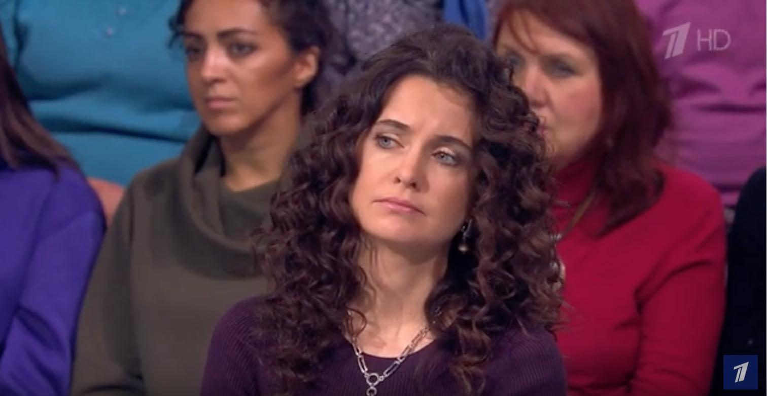 А. Марова в качестве эксперта в программе «Личная жизнь мамы. Мужское / Женское»