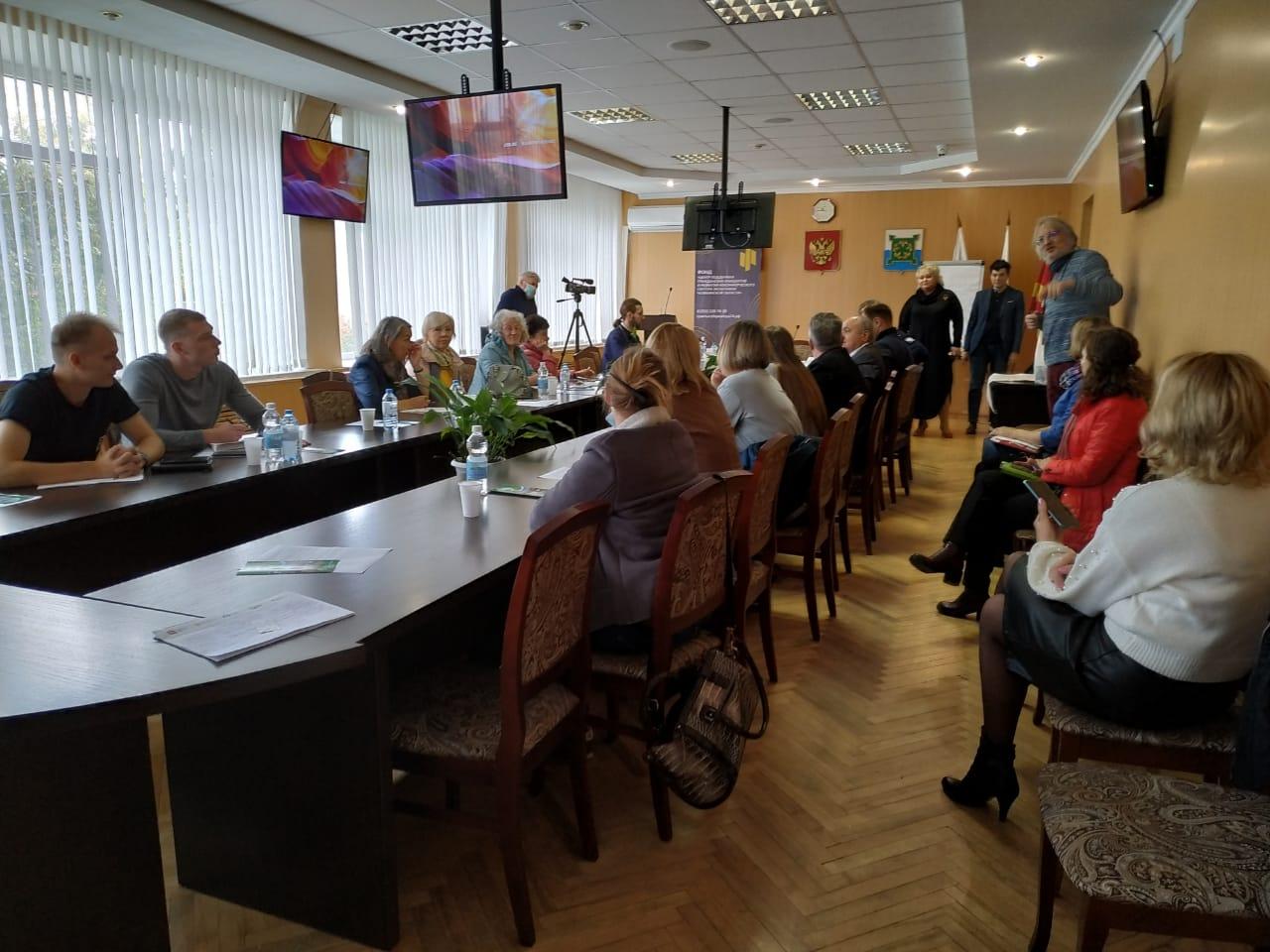 21-23 сентября прошел семинар для НКО и инициативных групп в Челябинской области
